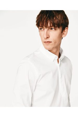 Heren Overhemden - Zara OVERHEMD MET POLOKRAAG - In meer kleuren beschikbaar