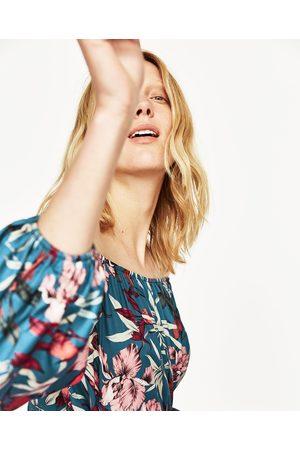 Dames Body's - Zara BODY MET TROPISCHE PRINT