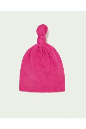 Dames Mutsen - Zara EXTRA ZACHTE BEANIE MET KNOOP - In meer kleuren beschikbaar