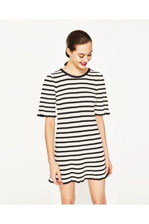 Dames Korte jurken - Zara JURK MET KORTE MOUWEN - In meer kleuren beschikbaar
