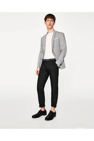 Heren Riemen - Zara BROEK MET RIEM - In meer kleuren beschikbaar