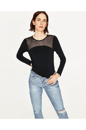 Dames Body's - Zara BODY MET TULE