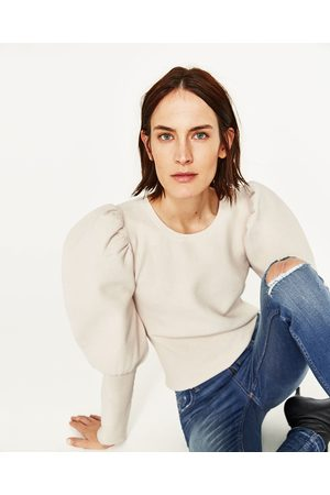 Dames Skinny - Zara SKINNY JEANS MET HALFHOGE TAILLE