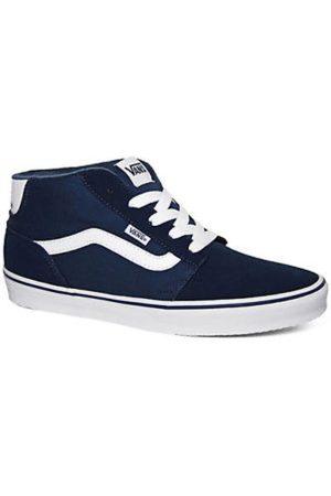 vans chapman stripe tx sneakers blauw heren