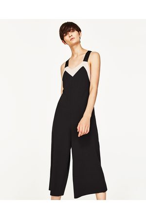 Dames Jumpsuits - Zara TWEEKLEURIG CROPPED JUMPSUIT
