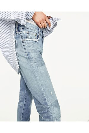 Dames Baggy & Boyfriend - Zara SLIM FIT BOYFRIEND JEANS PREMIUM-COLLECTIE