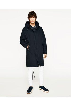 Heren Parka's - Zara PARKA MET CAPUCHON - In meer kleuren beschikbaar
