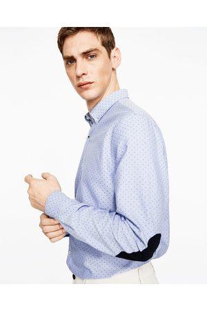 Heren Overhemden - Zara OXFORD OVERHEMD MET ELLEBOOGSTUKKEN