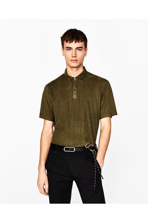 Heren Poloshirts - Zara SUÈDE POLO - In meer kleuren beschikbaar