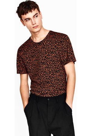 Heren Shirts - Zara T-SHIRT MET DIERENPRINT