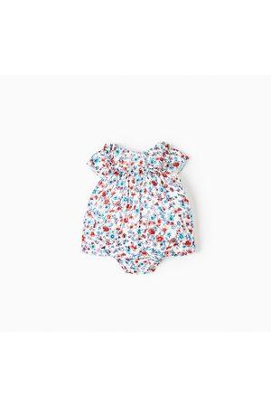 Geprinte jurken - Zara JURK MET BLOEMENPRINT