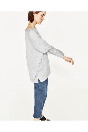 Dames Truien - Zara OVERSIZED TRUI MET BOOTHALS - In meer kleuren beschikbaar