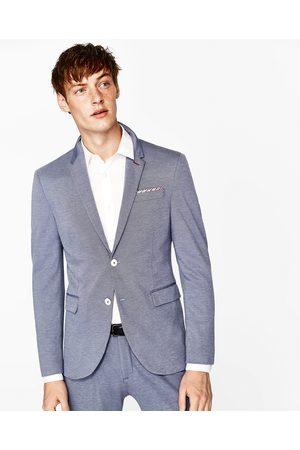 Heren Zara COMFORTABELE KOSTUUMBLAZER - In meer kleuren beschikbaar