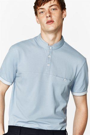 Heren Poloshirts - Zara POLO MET MAOKRAAG - In meer kleuren beschikbaar