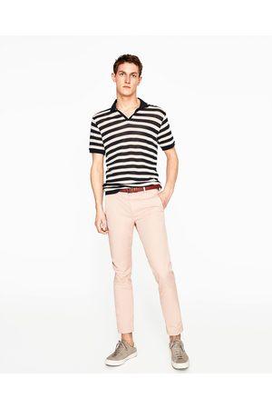 Heren Chino's - Zara CHINOBROEK - In meer kleuren beschikbaar