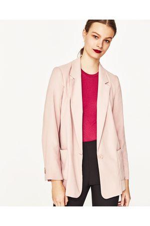 Dames Blazers & Colberts - Zara SOEPELVALLENDE BLAZER - In meer kleuren beschikbaar