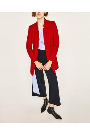 Dames Mantels - Zara JACQUETJAS MET OMGEKEERDE REVERS - In meer kleuren beschikbaar