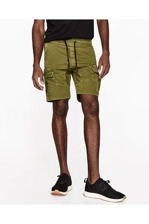 Heren Bermuda's - Zara BERMUDA MET CARGOZAK - In meer kleuren beschikbaar