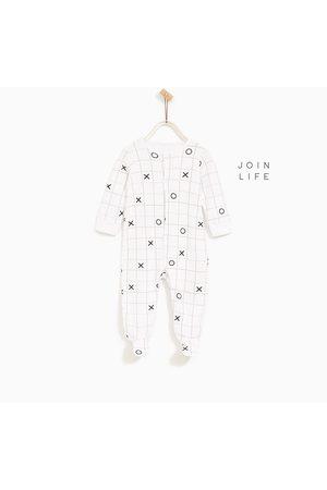 Pyjama's - Zara GERUITE PYJAMA VAN BIOLOGISCH KATOEN