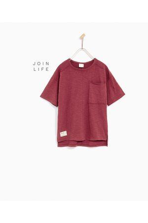 Shirts - Zara T-SHIRT MET ZAKJE - In meer kleuren beschikbaar