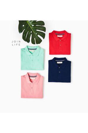 Poloshirts - Zara BASIC PIQUÉ POLO - In meer kleuren beschikbaar