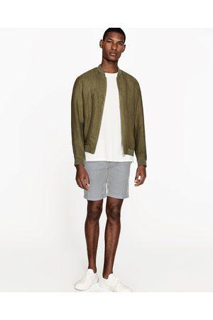 Heren Jacks - Zara LINNEN JACK - In meer kleuren beschikbaar