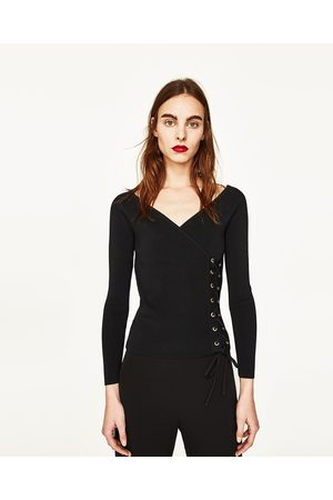 Dames Truien - Zara TRUI MET HARTVORMIG DECOLLETÉ - In meer kleuren beschikbaar