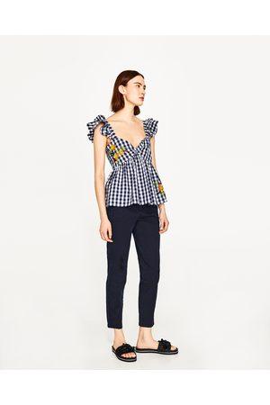 Dames Chino's - Zara CHINOBROEK - In meer kleuren beschikbaar