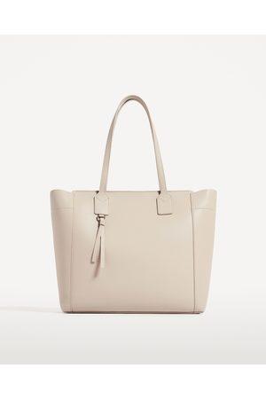 Dames Shoppers - Zara SHOPPER MET RITS - In meer kleuren beschikbaar
