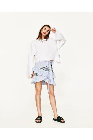 Dames Truien - Zara TRUI MET LUS AAN DE MOUWEN - In meer kleuren beschikbaar