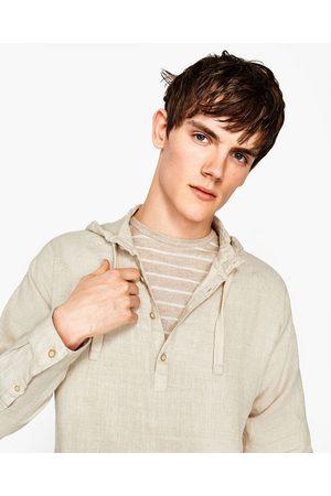 Heren Overhemden - Zara LINNEN OVERHEMD - In meer kleuren beschikbaar