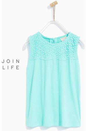 Shirts - Zara OPEN GUIPURE T-SHIRT - In meer kleuren beschikbaar