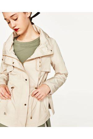 Dames Parka's - Zara PARKA MET VERBORGEN CAPUCHON - In meer kleuren beschikbaar