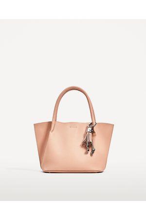 Dames Shoppers - Zara MINI-SHOPPER MET PRINT - In meer kleuren beschikbaar