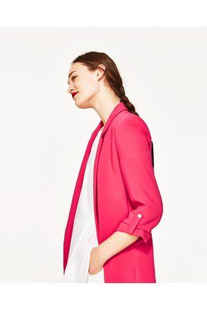 Dames Blazers & Colberts - Zara LANGE BLAZER - In meer kleuren beschikbaar