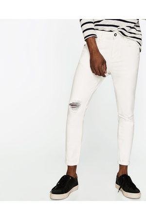 Heren Slim & Skinny broeken - Zara DENIM CARROT SKINNY BROEK - In meer kleuren beschikbaar