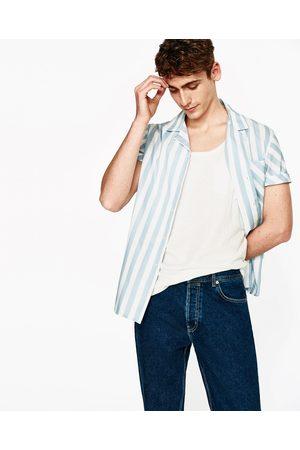Heren Shirts - Zara BASIC MOUWLOOS SHIRT - In meer kleuren beschikbaar