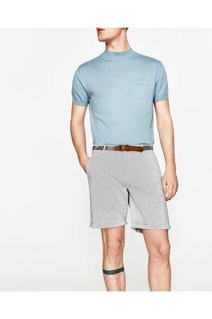 Heren Riemen - Zara BERMUDA MET RIEM - In meer kleuren beschikbaar