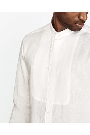 Heren Overhemden - Zara LINNEN OVERHEMD