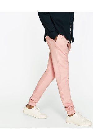 Heren Joggingbroeken - Zara GEKLEURDE JOGGINGBROEK - In meer kleuren beschikbaar