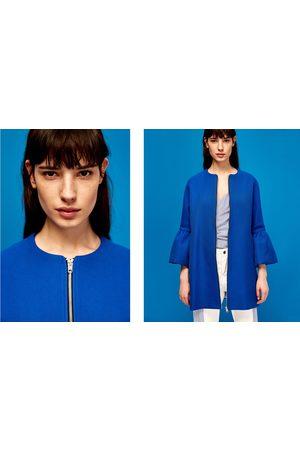 Dames Jassen - Zara JAS MET VOLANTMOUWEN - In meer kleuren beschikbaar