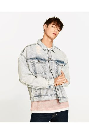 Heren Jacks - Zara OVERSIZED DENIM JACK