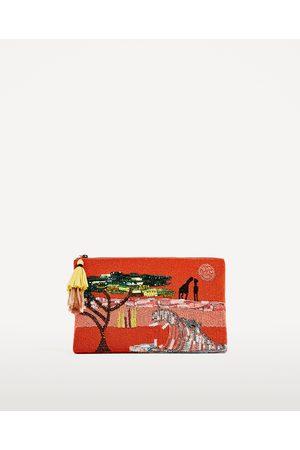 Dames Clutches - Zara CLUTCH MET KRALEN