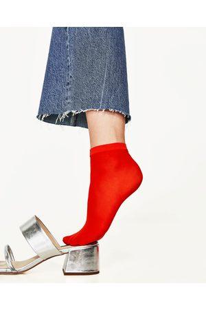 Dames Sokken & Kousen - Zara SET VAN 2 SOKKEN VAN NETSTOF - In meer kleuren beschikbaar