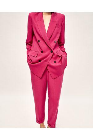 Dames Jassen - Zara DOUBLE-BREASTED JASJE - In meer kleuren beschikbaar