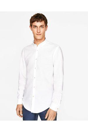 Heren Overhemden - Zara EFFEN OVERHEMD - In meer kleuren beschikbaar