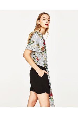 Dames Bermuda's - Zara SOEPELVALLENDE BERMUDA - In meer kleuren beschikbaar