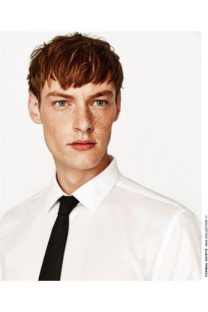 Heren Overhemden - Zara EASY CARE OVERHEMD MET ARGYLE DESSIN