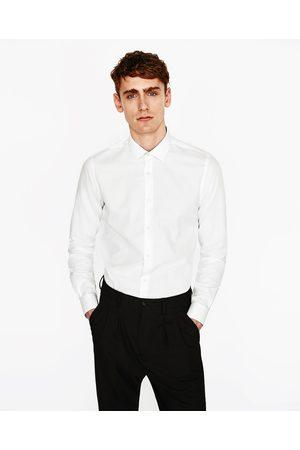 Heren Overhemden - Zara OVERHEMD MET ARGYLE DESSIN