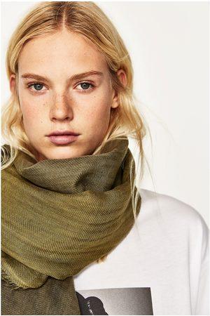 Dames Sjaals - Zara LINNEN TIE-DYE SJAAL - In meer kleuren beschikbaar